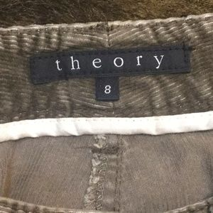 Theory Pants - THEORY Flare Corduroy Pants Size 8